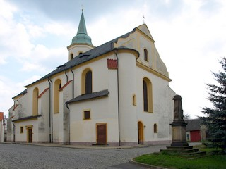 Kostel sv. Michaela Archanděla - Ostrov
